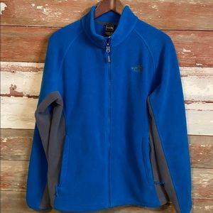 North Face Zip up fleece Jacket! Men's size Medium